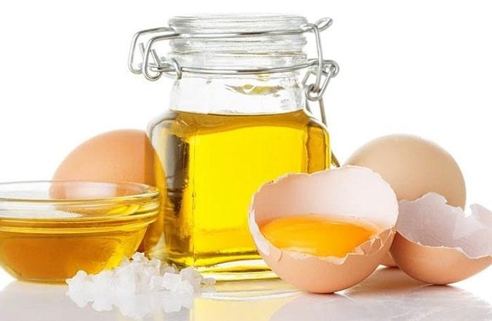 Dưỡng da bằng dầu oliu mật ong và lòng đỏ trứng