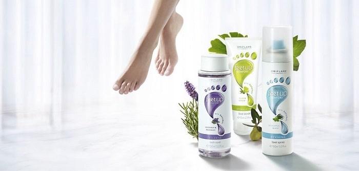 Oriflame Feet Up Comfort Anti-Perspirant Foot Cream.