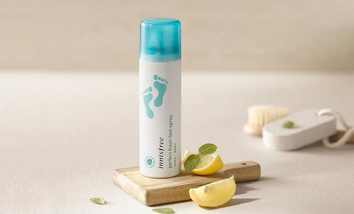 Kem Dưỡng Da Chân Innisfree Perfect Fresh Foot Cream.