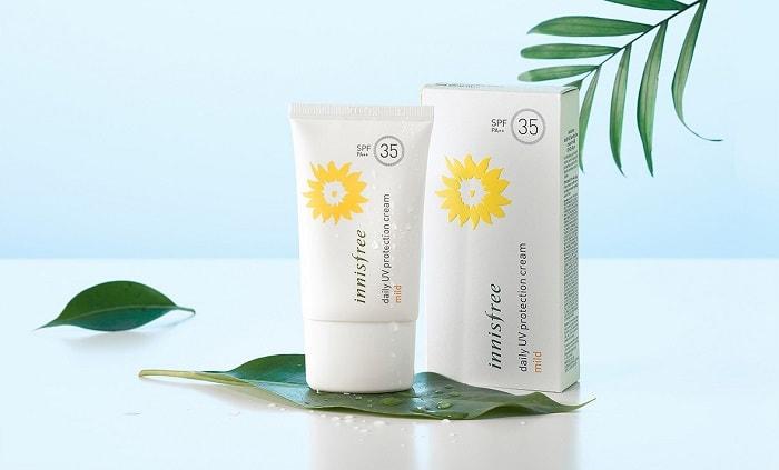 Kem Chống Nắng Hàng Ngày Innisfree Daily Uv Protection Cream Mild Spf35