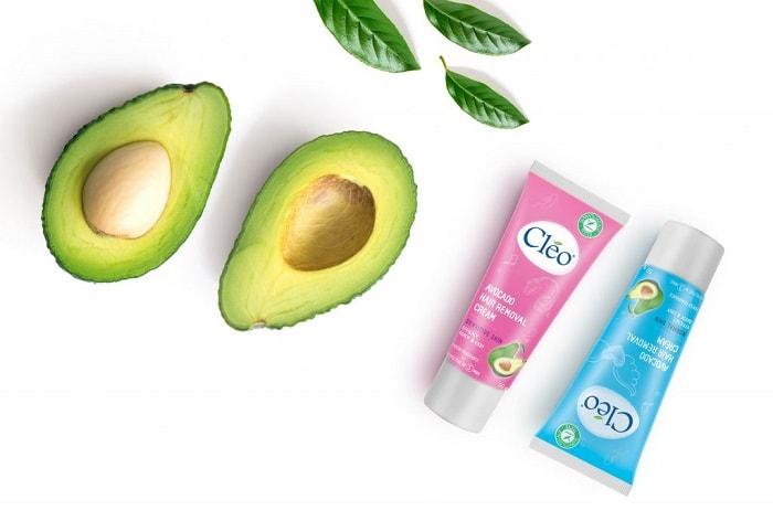 Kem Tẩy Lông Cleo Avocado Hair Removal Lotion